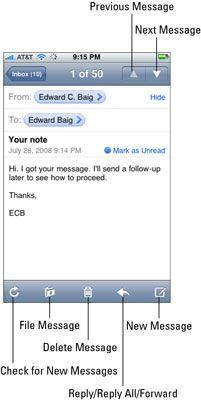 ���� - Wie und Weiterleiten von E-Mail-Nachrichten auf Ihrem iPhone zu antworten