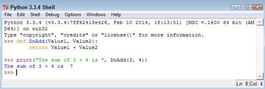 ���� - Wie Rückgabe Informationen von Funktionen in Python