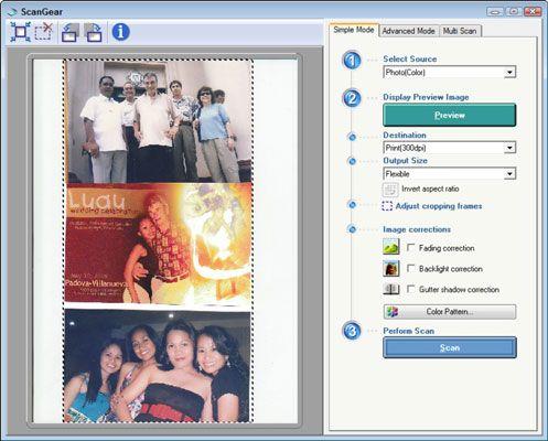 Machen Auswahl des Foto von Scanner-Dialogfeld und klicken Sie auf OK.