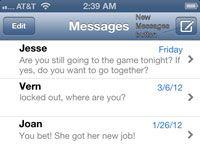 ���� - Wie zum Senden von SMS-Nachrichten auf Ihrem iPhone 5