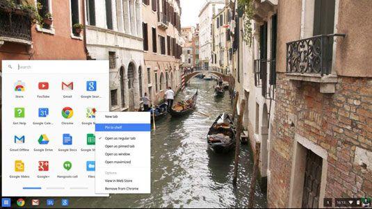 ���� - So richten Sie Chromebook App Shortcuts