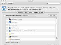 ���� - Wie Einrichten von MobileMe auf Ihrem Mac