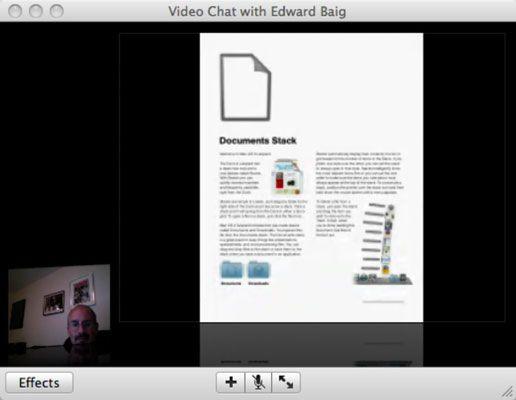 ���� - So teilen Sie Dateien mit dem Mac iChat Theater