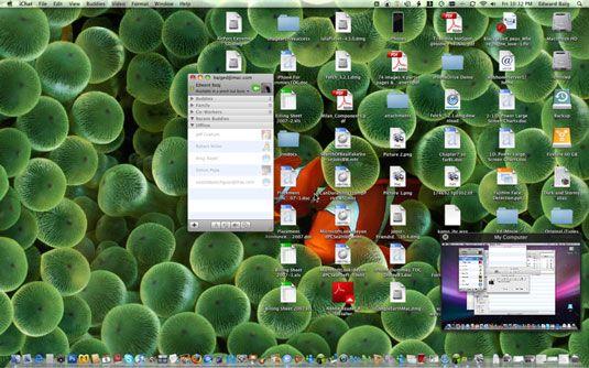 ���� - Wie Mac-Bildschirme über iChat Teile