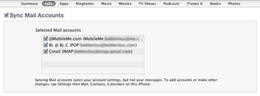 ���� - Wie E-Mail-Konten mit Ihrem iPhone 4S Sync