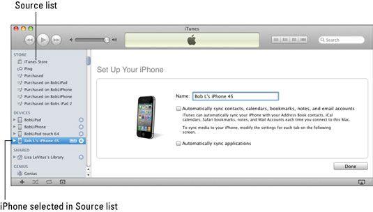 ���� - So erreichen Sie Ihre iPhone 4S mit dem Computer synchronisieren