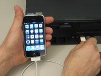 ���� - Wie Sie Ihr iPhone mit dem Computer zu synchronisieren