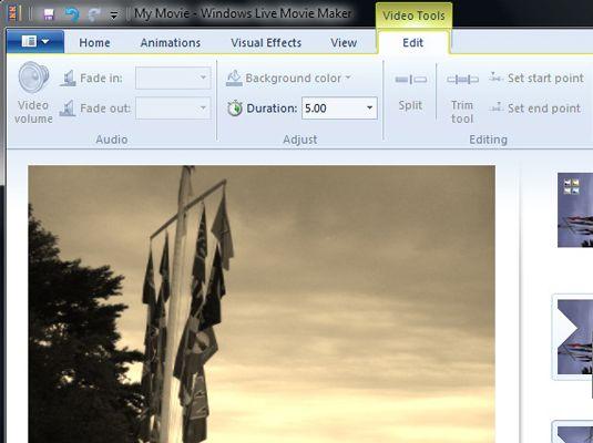 ���� - Wie man einen Video Clip in Windows Live Movie Maker Trim