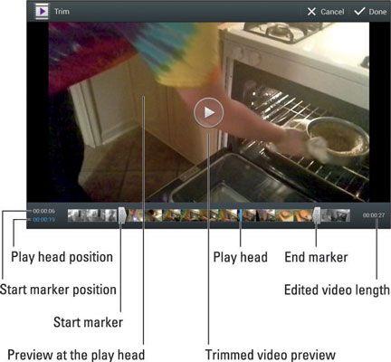���� - Wie man ein Video auf Ihrem Android-Tablet zu trimmen