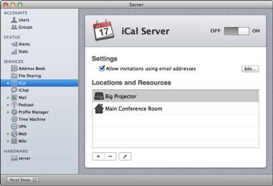 ���� - Wie auf Push-Benachrichtigung in Löwen iCal Server zu drehen