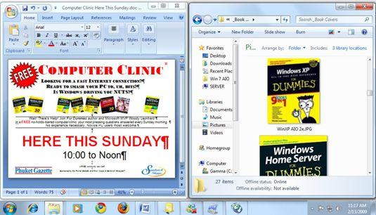 ���� - So verwenden Sie Aero Snap-in Windows 7 Windows Ändern der Größe