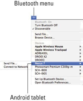 ���� - Wie Bluetooth verwenden, um Dateien zwischen einem Computer und einem Android-Tablet zu übertragen