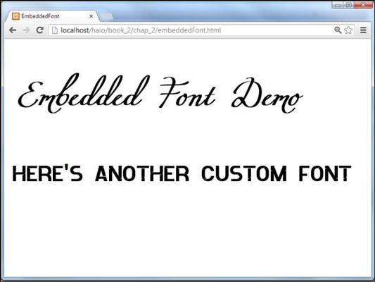 ���� - Wie Verwenden von eingebetteten Schriften für Ihre HTML5 und CSS3-basierte Web-Seiten