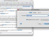 ���� - Wie Suche verwenden und in Word 2008 für Mac ersetzen