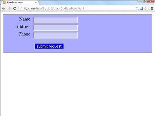 ���� - So verwenden Float-Art Forms für HTML5 und CSS3 Programmierung