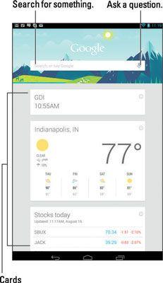 ���� - So verwenden Sie Google Now auf Ihrem Android-Tablet