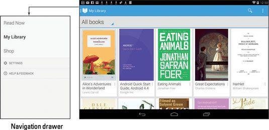 ���� - So verwenden Sie Google Play Books auf Ihrem Android-Tablet