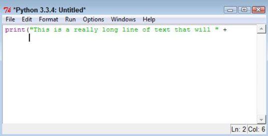 ���� - Wie Einrückung in Python Programming verwenden