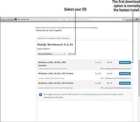 ���� - So verwenden MySQL Workbench für Ihre Website