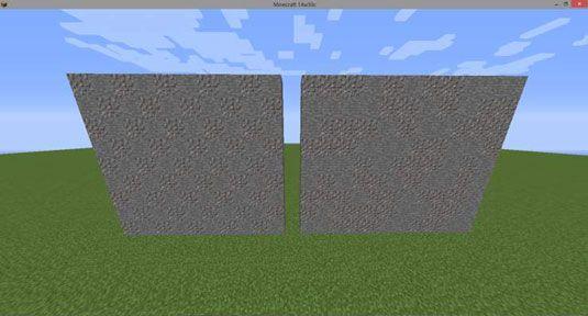 ���� - Wie Randomized Blockmuster in Ihre Mine Konstruktion verwenden