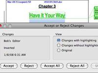���� - So verwenden Sie Überarbeitungsmarkierungen in Word 2008 für Mac