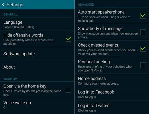 ���� - Wie Samsung Galaxy S 5 S-Voice verwenden Facebook Status zu aktualisieren