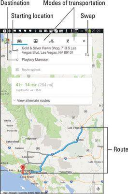 ���� - Wie man das Android-Tablet als Navigator verwenden