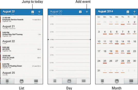 ���� - Wie die Kalender-App auf der Amazon-Feuer Telefon verwenden