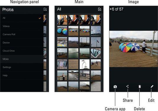 ���� - Wie Sie das digitale Fotoalbum auf Ihrem Amazon Feuer Telefon verwenden
