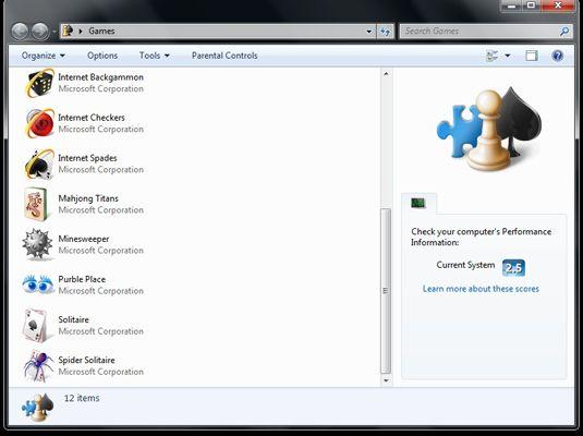 ���� - Wie man die Spiele-Explorer in Windows 7
