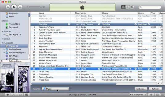���� - Wie Verwenden des iTunes DJ