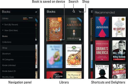 ���� - Wie man den Kindle App auf der Amazon-Feuer Telefon verwenden