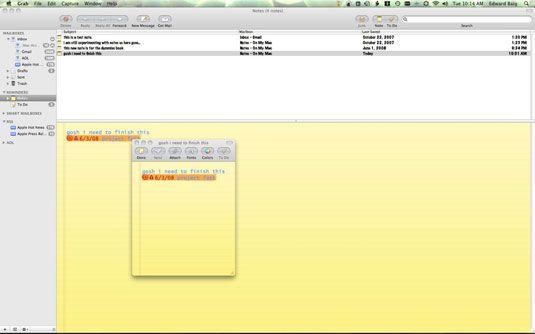 ���� - So verwenden Sie die Mac Notizen und To-Do-Funktionen