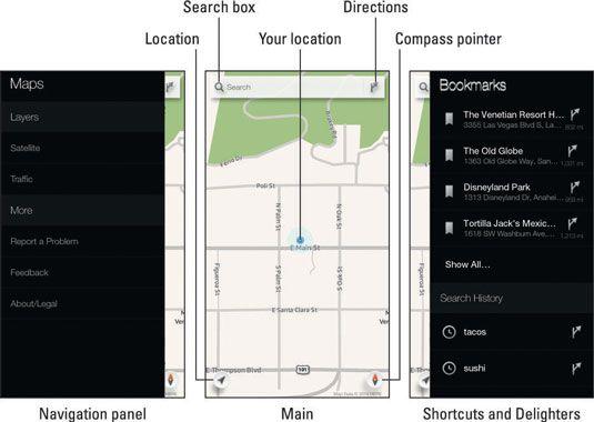 ���� - So verwenden Sie die Karten-App auf der Amazon-Feuer Telefon