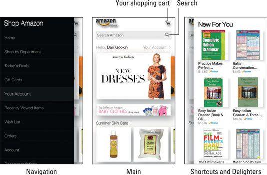 ���� - Wie das Geschäft Amazon App auf dem Feuer Telefonfunktionen