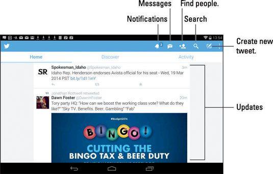 ���� - Wie Verwenden von Twitter auf Ihrem Android-Tablet