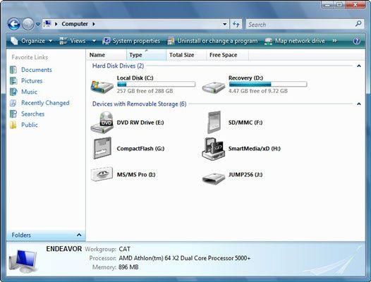 ���� - So zeigen permanenter Speicher in Windows