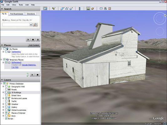 ���� - Wie Sie Ihr Google SketchUp-Modell in Google Earth anzeigen