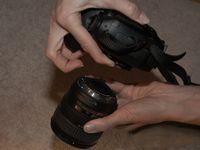 ���� - Halten Sie Ihre digitale SLR-Sensor Clean 's-Kamera