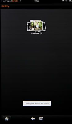 ���� - Kindle Fire Grundfunktionen