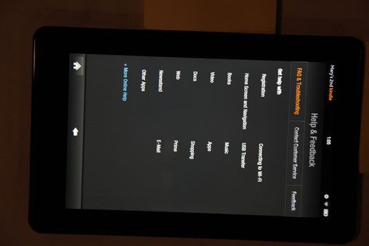 ���� - Kindle Fire Hilfe & Feedback