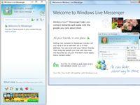 ���� - Starten von Windows Live Messenger zum ersten Mal in Windows 7