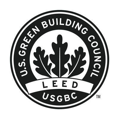 Die Führung in der Energie und Umweltgestaltung (LEED) Logo.