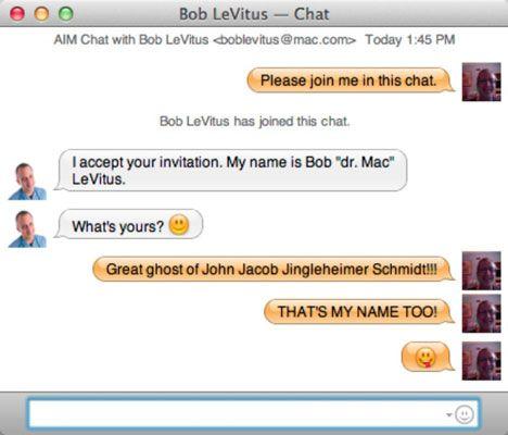 ���� - Messaging mit iChat in Mac OS X Lion