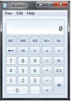 ���� - Neue Funktionen in Windows 7-Rechner