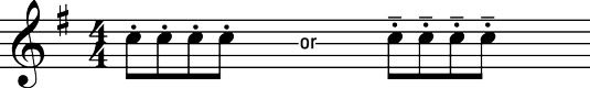 ���� - Off-the-String Bowings auf der Violine