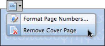 ���� - Office 2008 für Mac: Elemente entfernen Galerie Artikel von Dokumenten