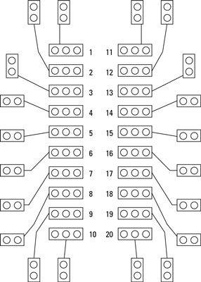 ���� - Prep zum Aufbau eines elektronischen Coin-Toss: Teileliste und PCB Layout