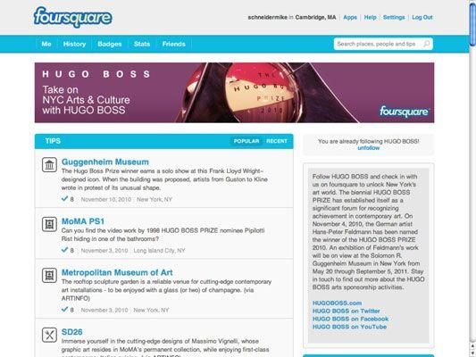 ���� - Anwesend Rechtzeitige Location-Based Angebote, Angebote und Inhalt
