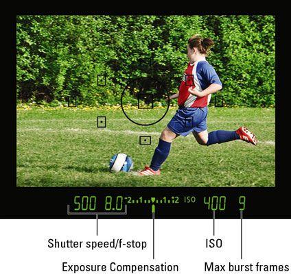 ���� - Das Lesen der Sucher Daten auf einer Canon EOS Rebel T3 Serie Kamera